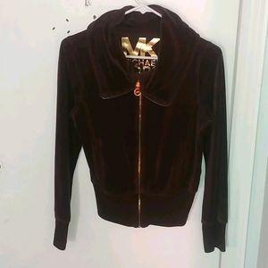 Michael Kors zip-up hoodie